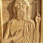 Saint Jean-Baptiste  (chêne 40x30)